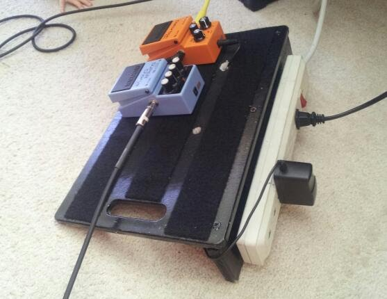 diy guitar pedal board dr dennis breese physical therapist. Black Bedroom Furniture Sets. Home Design Ideas